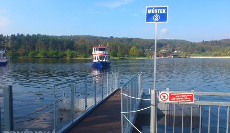Na brněnské přehradě začala plavební sezona