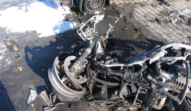 V Líšni zahynul po střetu s osobním autem motorkář