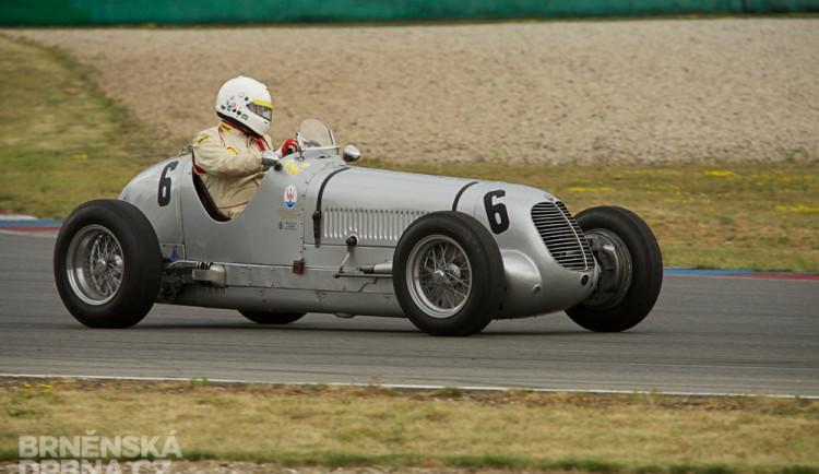 Formule 1 se vrátila na Masarykův okruh - ta historická