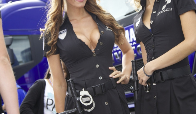 Krásky z paddocku české Grand Prix