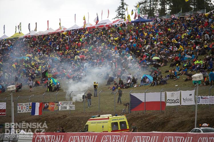 Atmosféra na tribuně C, foto: Brněnská Drbna, Miroslav Toman