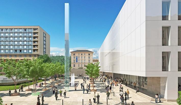 Janáčkovo kulturní centrum navrhl v lokalitě u Inter hotelu Atelier M1
