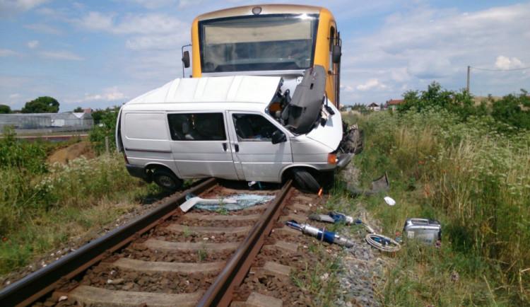 Tragická nehoda na železničním přejezdu ve Strážnici