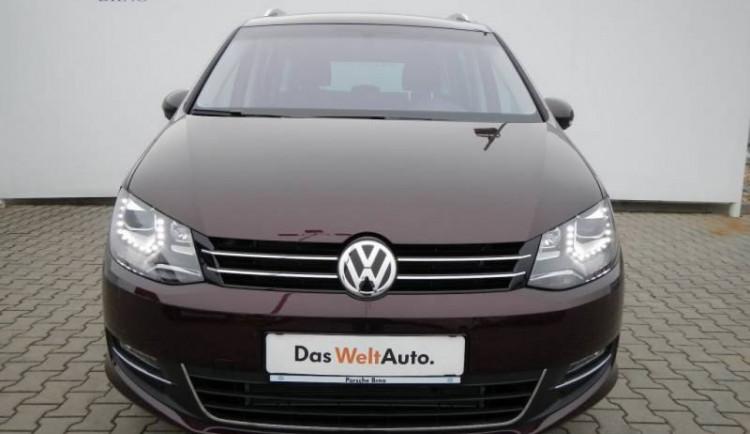 Volkswagen Sharan v brněnském Das Welt Auto