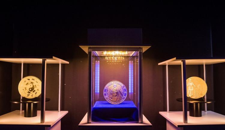 Brněnská mincovna slavnostně odhalila model největší mince světa, Autor: Tomáš Hrivňák