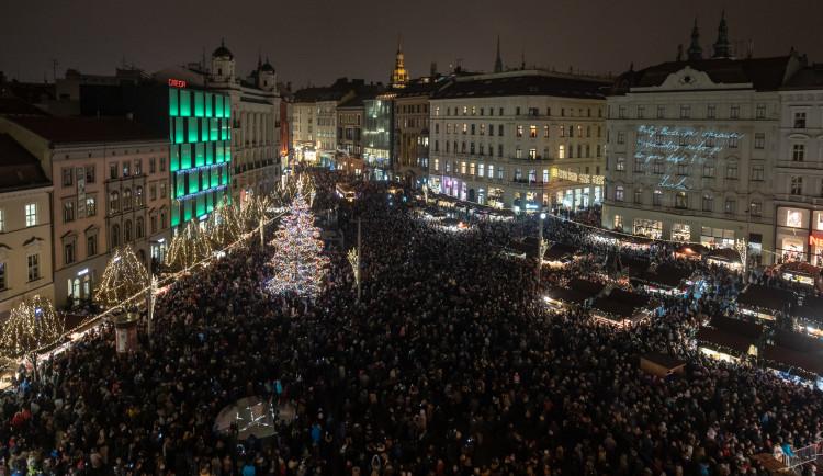 Ohlédnutí za Brněnskými Vánocemi, autoři: Michal Růžička - TIC Brno, Tomáš Hrivňák - Brněnská Drbna