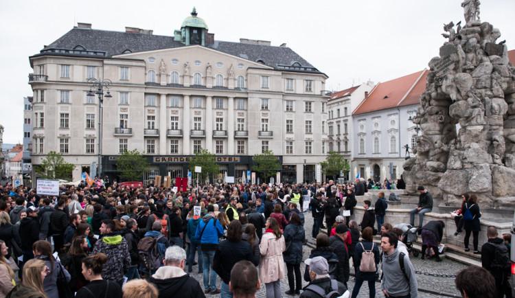V Brně se cinkalo klíči za nezávislou justici, autor: Tomáš Hrivňák
