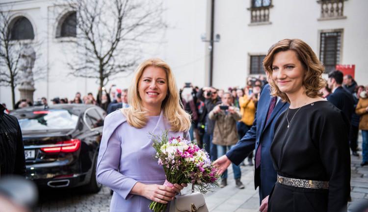 Slovenská prezidentka na návštěvě Brna, autor: Tomáš Hrivňák