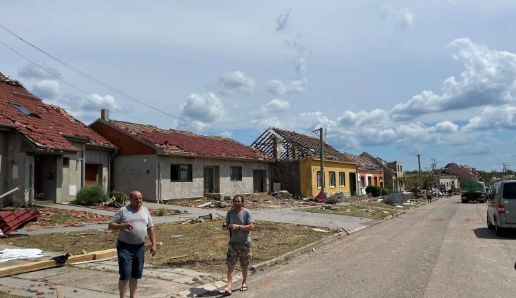 Následky řádění tornáda na Břeclavsku a Hodonínsku