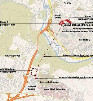 U výstaviště by měl vzniknout celý nový dopravní okruh