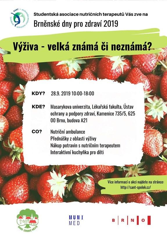 Přednáška na LF Masarykovy Univerzity