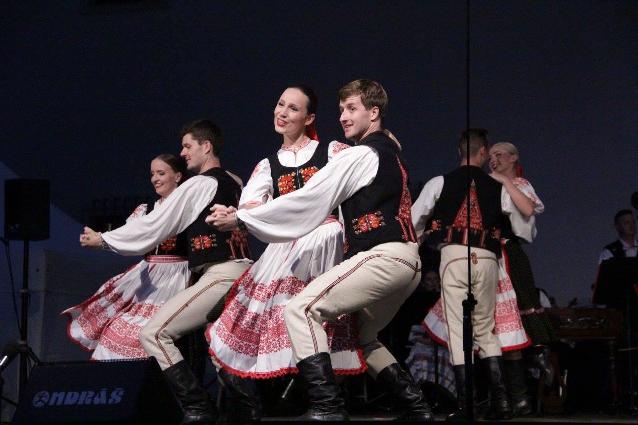 Jan Kysučan při tanci