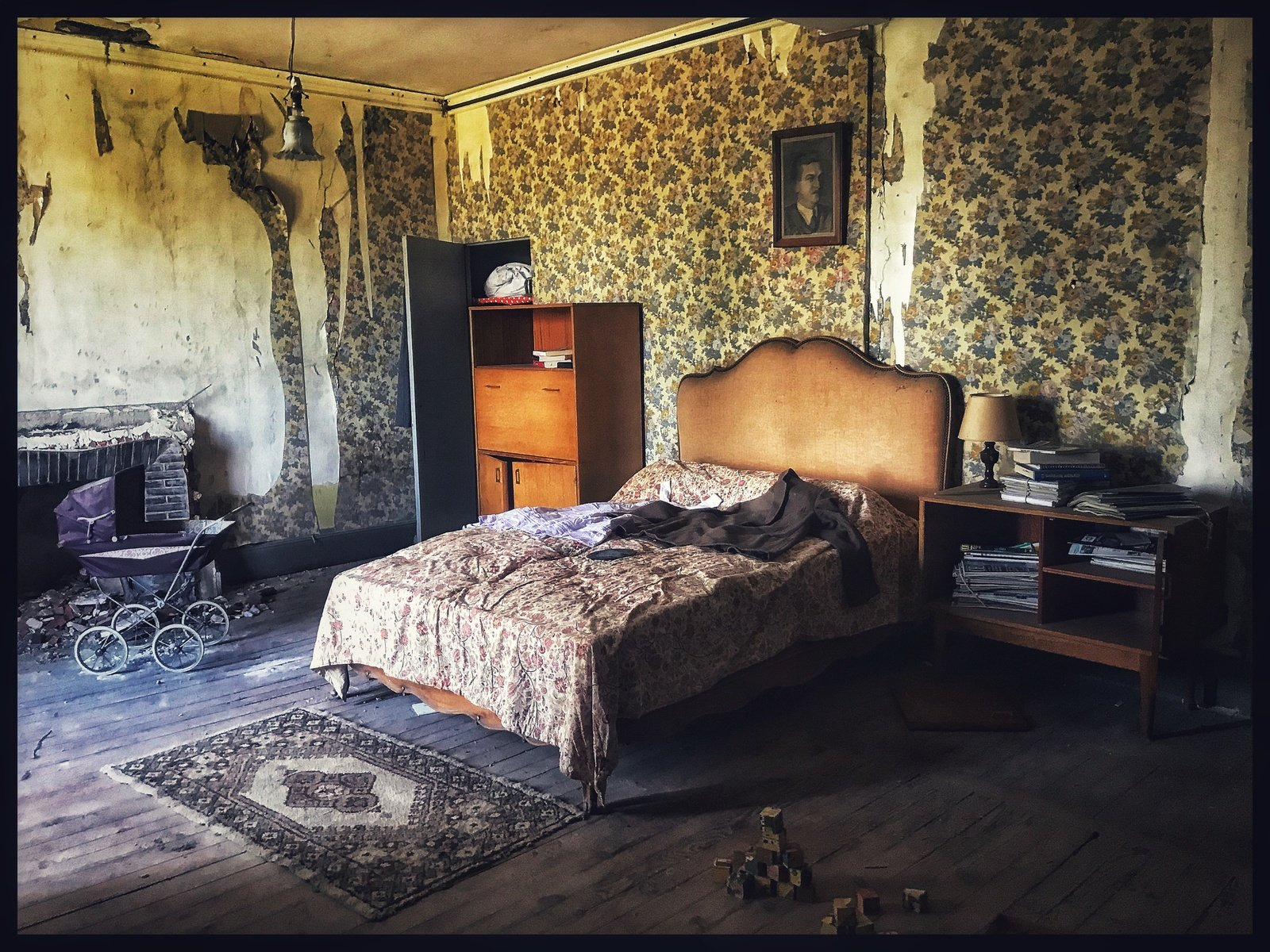 Opuštěná vila ve Francii